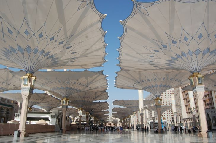 Al-Masjid al-Nabawi (The Mosque of the Prophet) in Medina