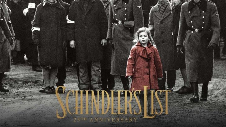 Promotional image for 25th anniversary rerelease of Schindler's List.
