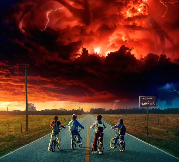 A still from 'Stranger Things'