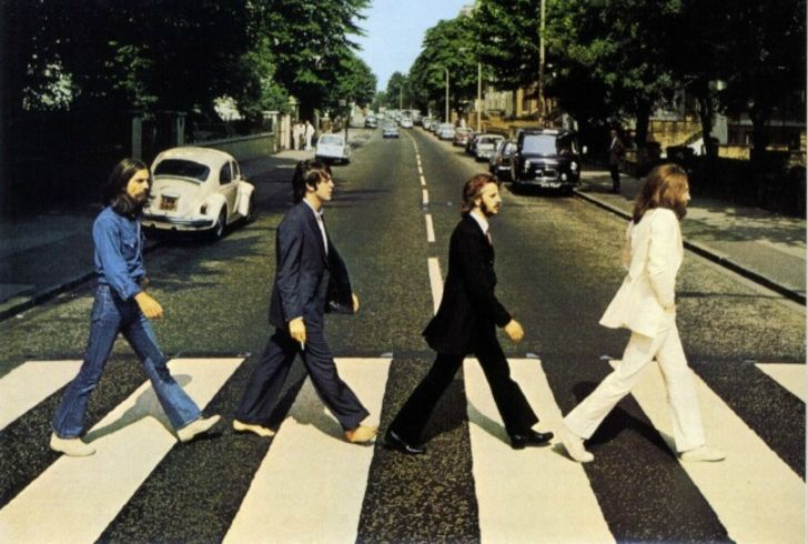 The cover of The Beatles's 'Abbey Road'