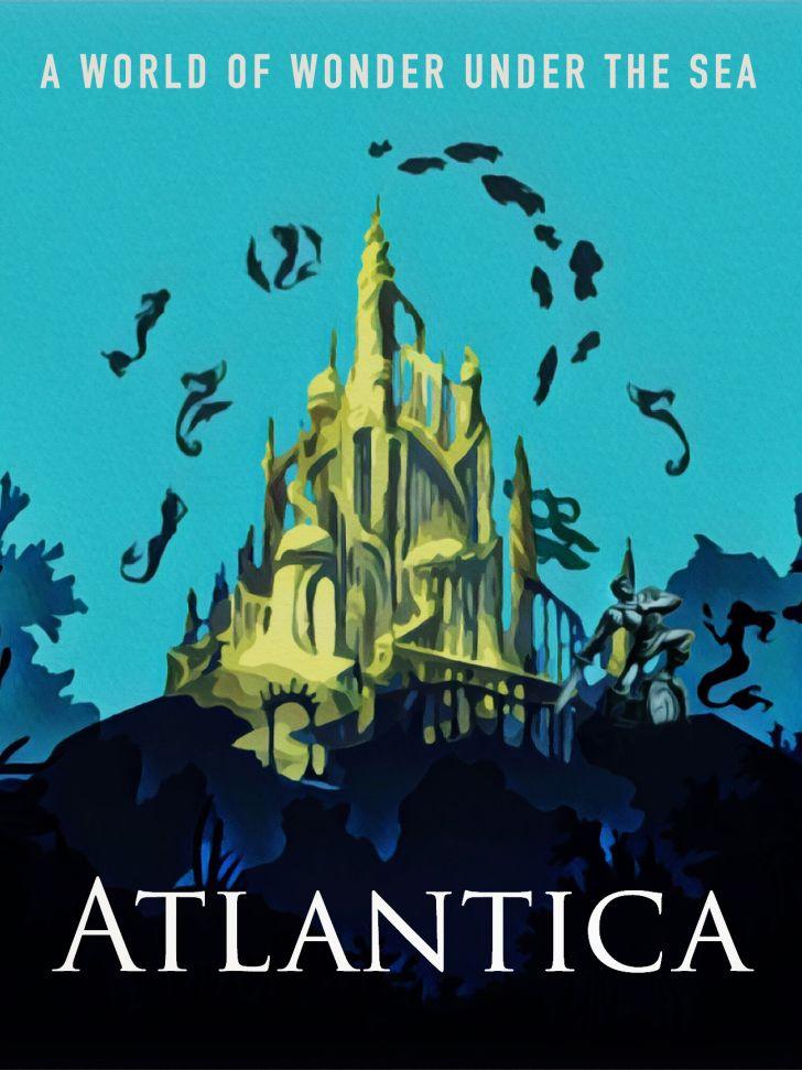 An Atlantica travel poster