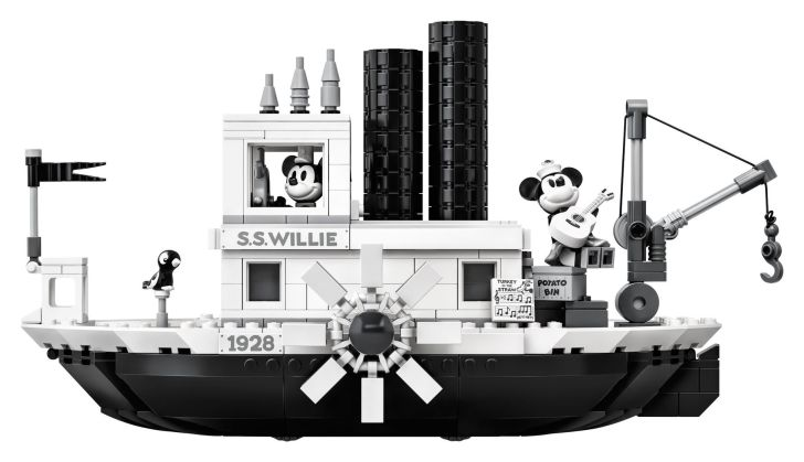 LEGO's Steamboat Willie set