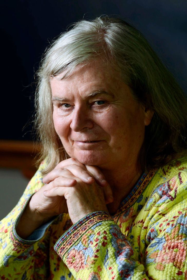 Mathematician and Abel Prize winner Karen Uhlenbeck is seen in a portrait