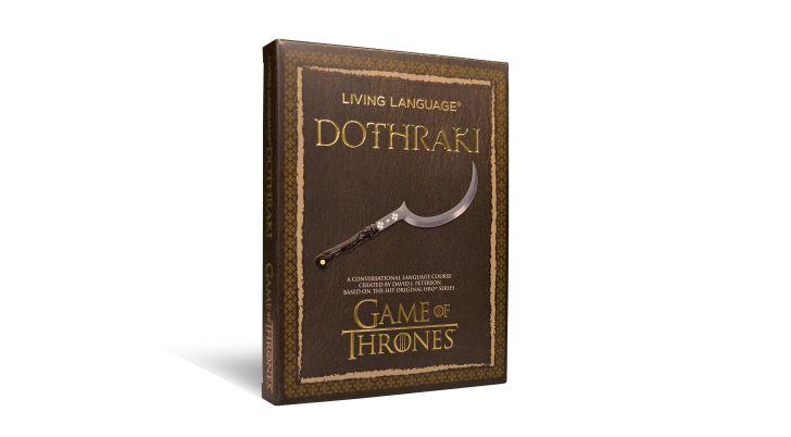 The cover of 'Living Language Dothraki'