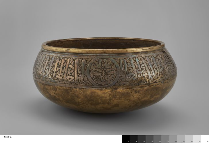 Bowl from 11th-century Egypt.