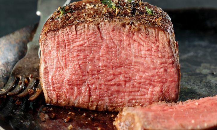 A cut of steak