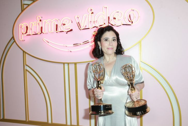 Alex Borstein attends the Amazon Prime Video post Emmy Awards party at Cecconi's on September 17, 2018 in West Hollywood, California