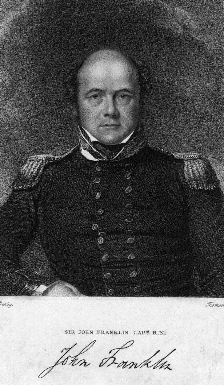 Sir John Franklin circa 1830