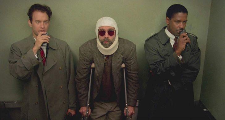 Tom Hanks, Denzel Washington, and Buzz Kilman in Philadelphia (1993)
