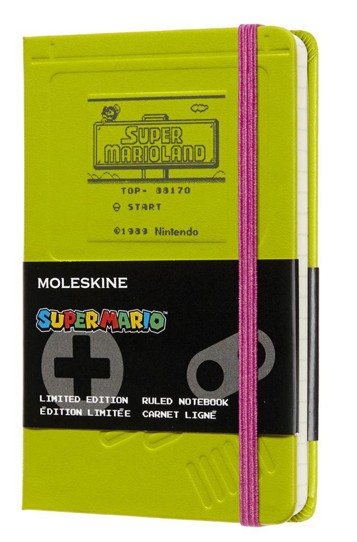 super maro bros. limited edition moleskine notebook
