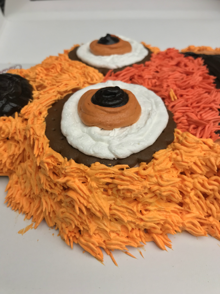 An image of a Gritty Ice Cream cake.