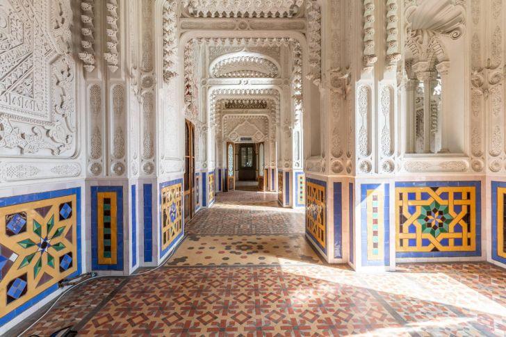 A hallway in Sammezzano Castle