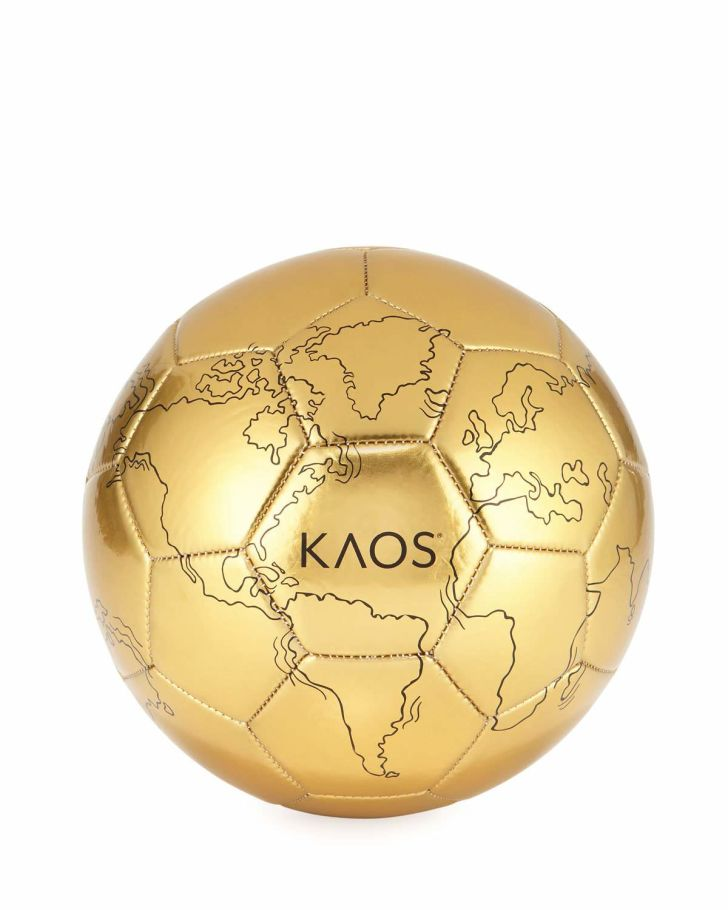 gold kaos soccer ball