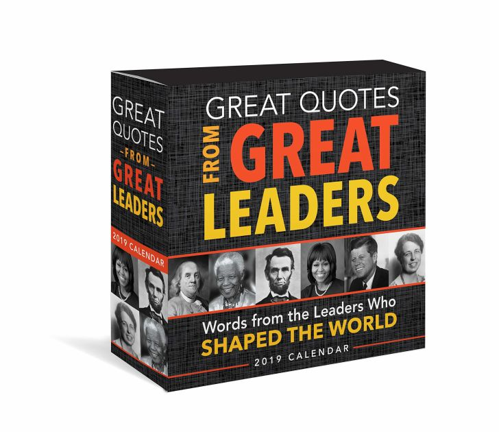 Great Quotes for Great Leaders Calendar
