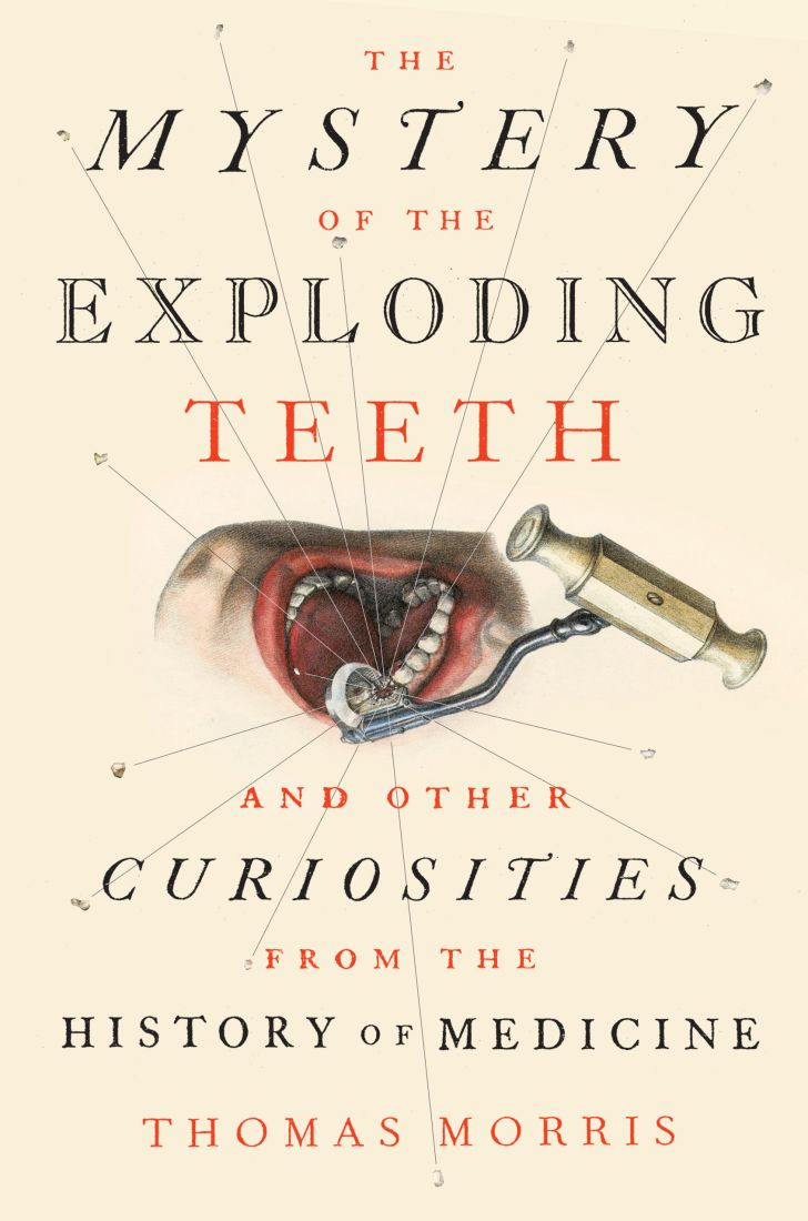 Book jacket for The Mystery of the Exploding Teeth