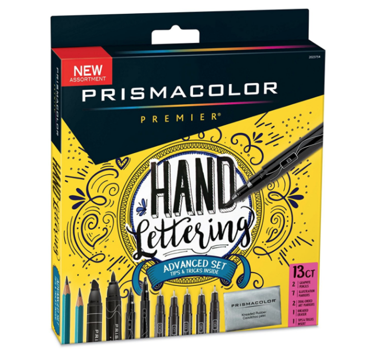 DIY Prismacolor Hand Lettering Set on Amazon