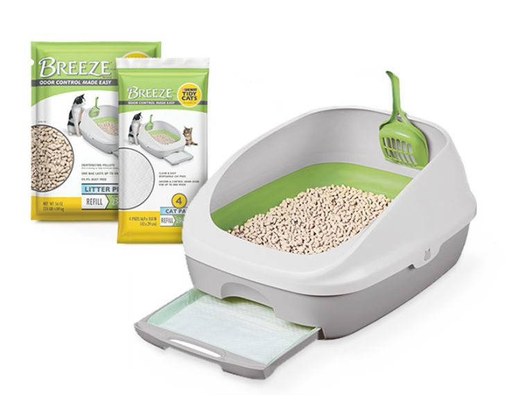 A look at the Purina Tidy Cats Breeze litter box