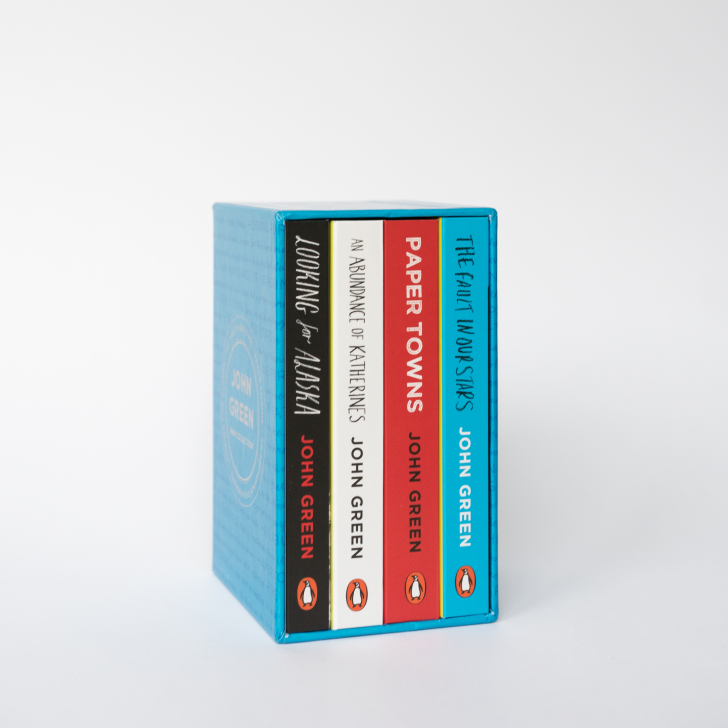 A boxed set of John Green novels released as Penguin Minis