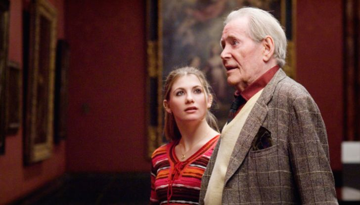 Jodie Whittaker and Peter O'Toole in 'Venus' (2006)