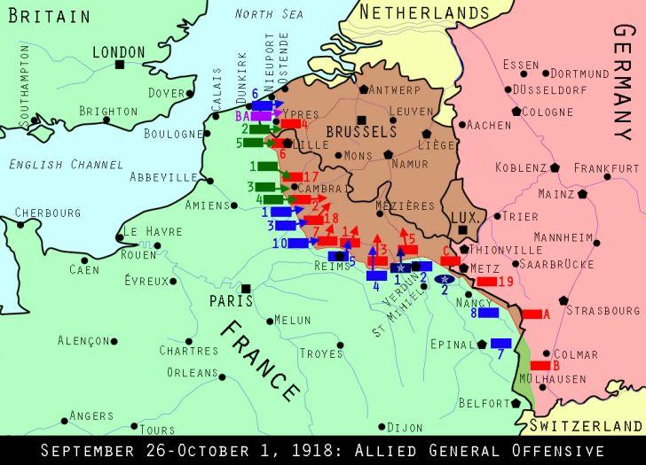Western Front, September 28, 1918