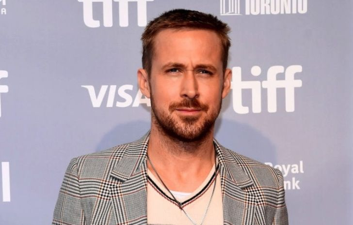 Ryan Gosling attends the 'First Man' press conference during 2018 Toronto International Film Festival at TIFF Bell Lightbox on September 11, 2018
