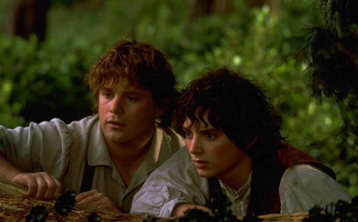 Sean Astin and Elijah Wood in 'The Lord of the Rings: The Fellowship of the Ring' (2001)