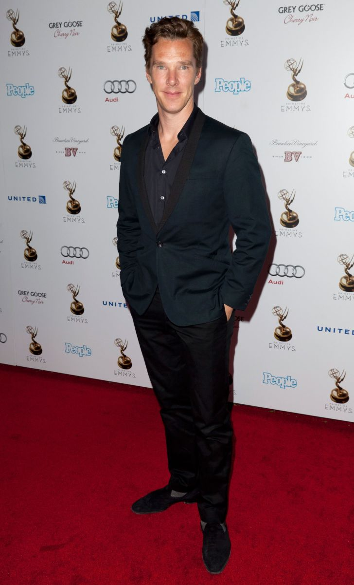 Actor Benedict Cumberbatch attends The Academy Of Television Arts & Sciences Performer Nominees' 64th Primetime Emmy Awards Reception at Spectra by Wolfgang Puck at the Pacific Design Center on September 21, 2012