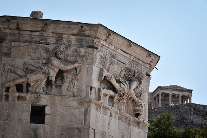 The Tower of Winds in Athens