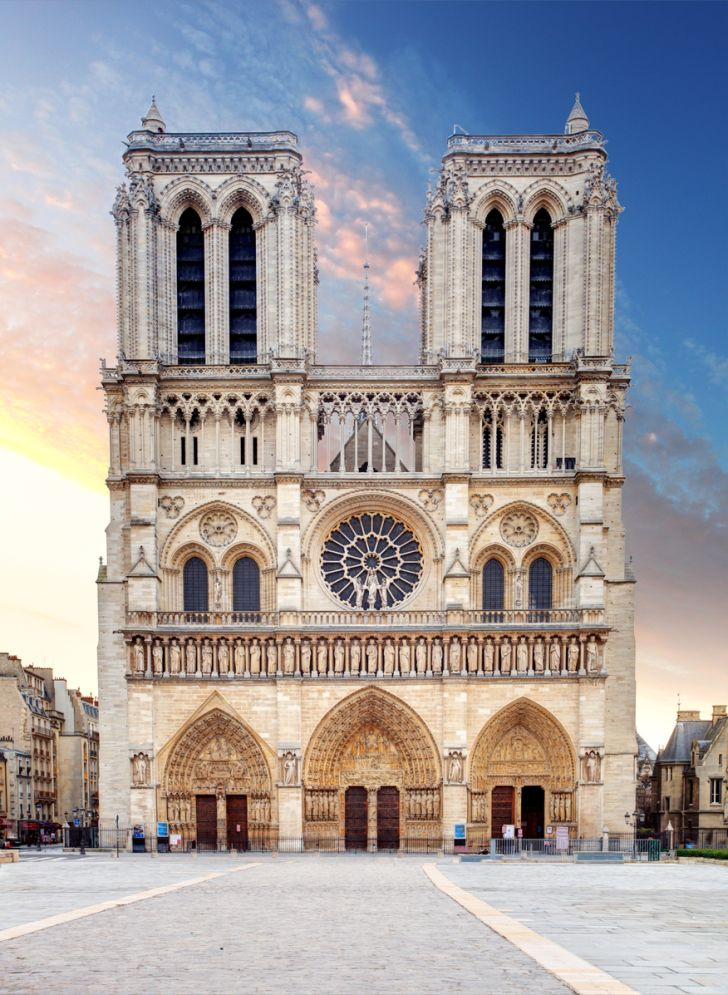 The two towers of Notre-Dame