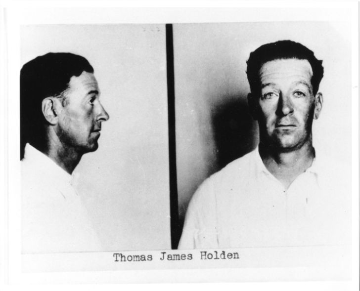 FBI Most Wanted poster for Thomas James Holden