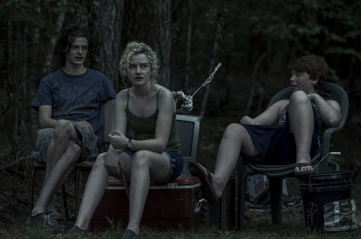 Charlie Tahan, Julia Garner, and Carson Holmes in 'Ozark'
