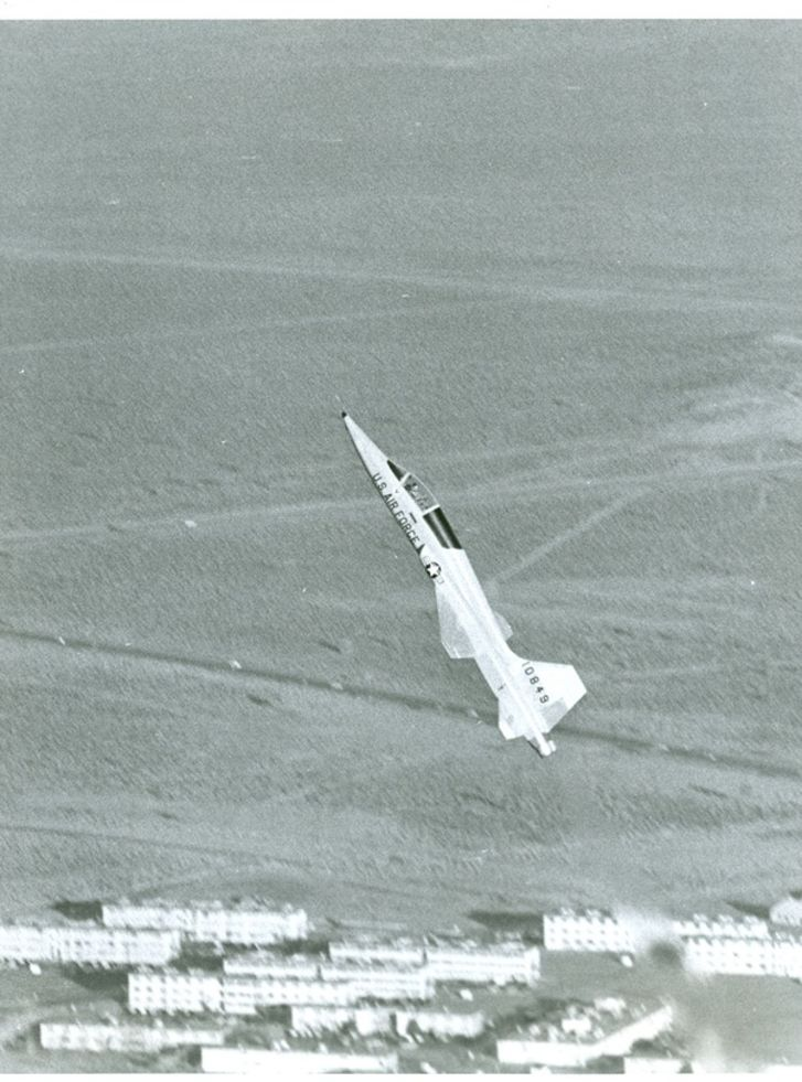 A plane takes off at a steep incline