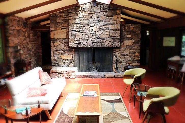 Balter House interior at Polymath Park