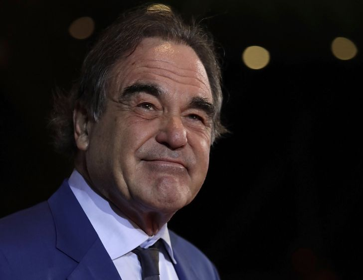 Director Oliver Stone attends the Opening Ceremony of the 22nd Busan International Film Festival on October 12, 2017 in Busan, South Korea