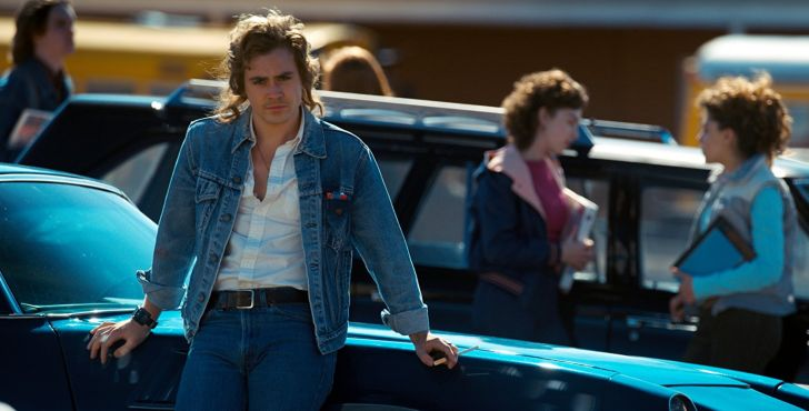 Dacre Montgomery in 'Stranger Things'