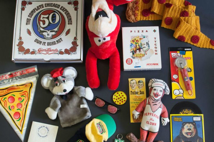 A look at some of the items in the collection of the U.S. Pizza Museum
