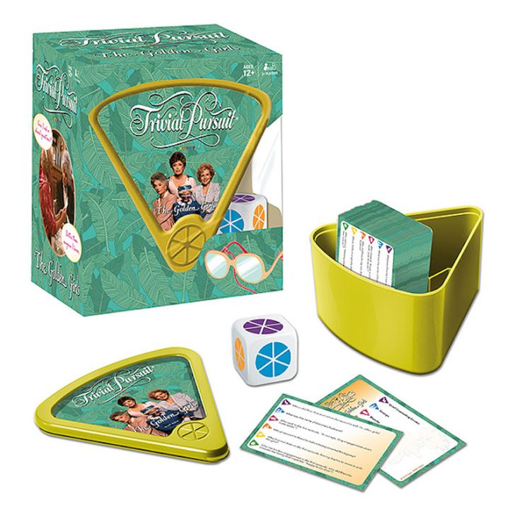 Trivial Pursuit: The Golden Girls Edition.