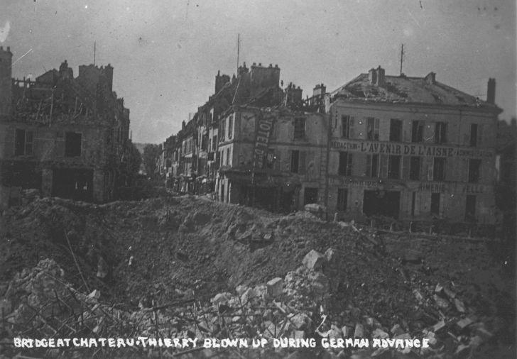 Chateau-Thierry bridge, 1918