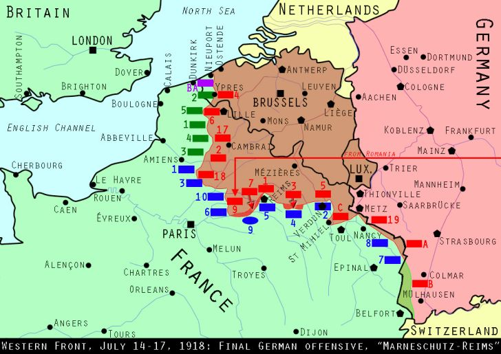 Western Front, July 15, 1918