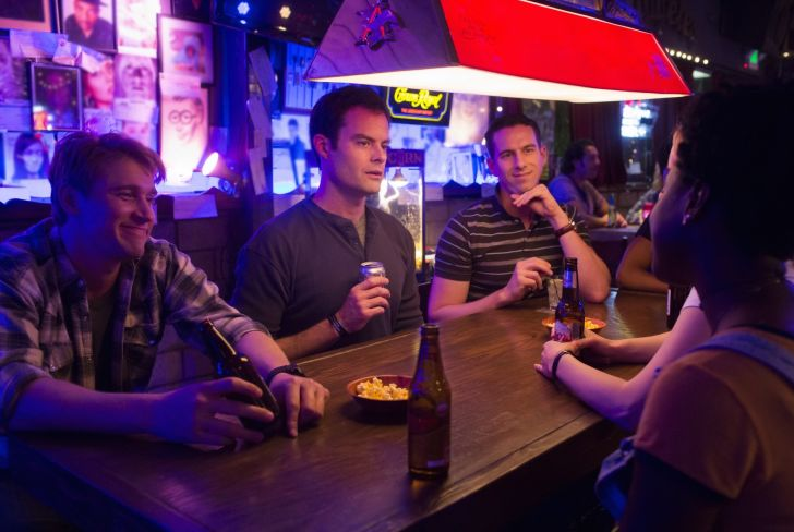 Tyler Jacob Moore, Bill Hader, and Rightor Doyle in 'Barry'