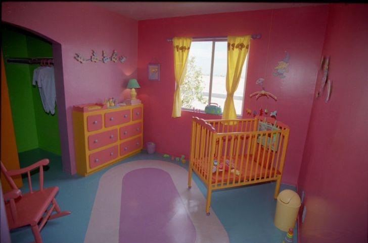 A look at Maggie Simpson's nursery