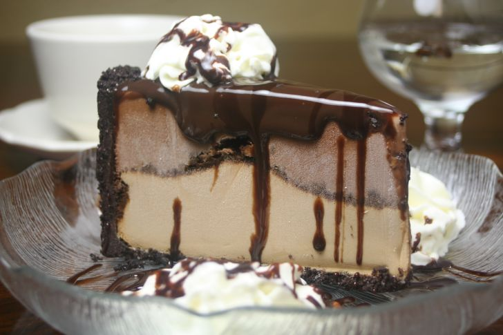 image of a slice of ice cream cake