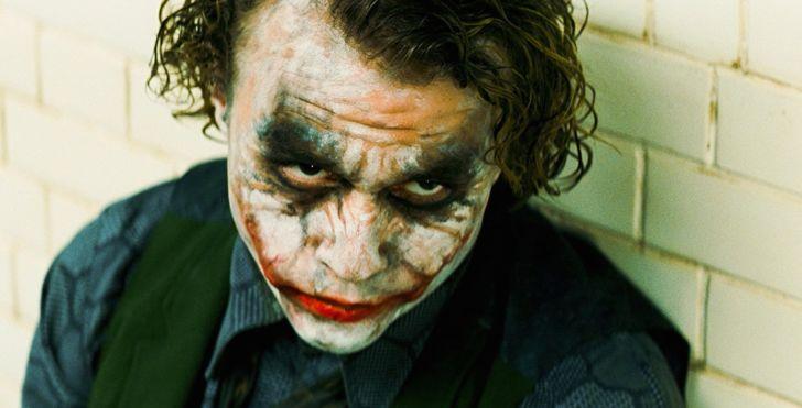 Heath Ledger stars as The Joker in 'The Dark Knight' (2008)