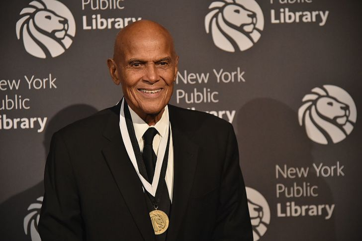 Harry Belafonte attends the 2016 Library Lions Gala at New York Public Library - Stephen A Schwartzman Building on November 7, 2016 in New York City