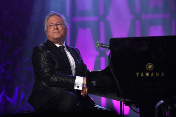 Johnny Mercer Award Honoree Alan Menken performs onstage at the Songwriters Hall Of Fame 48th Annual Induction and Awards at New York Marriott Marquis Hotel on June 15, 2017 in New York City