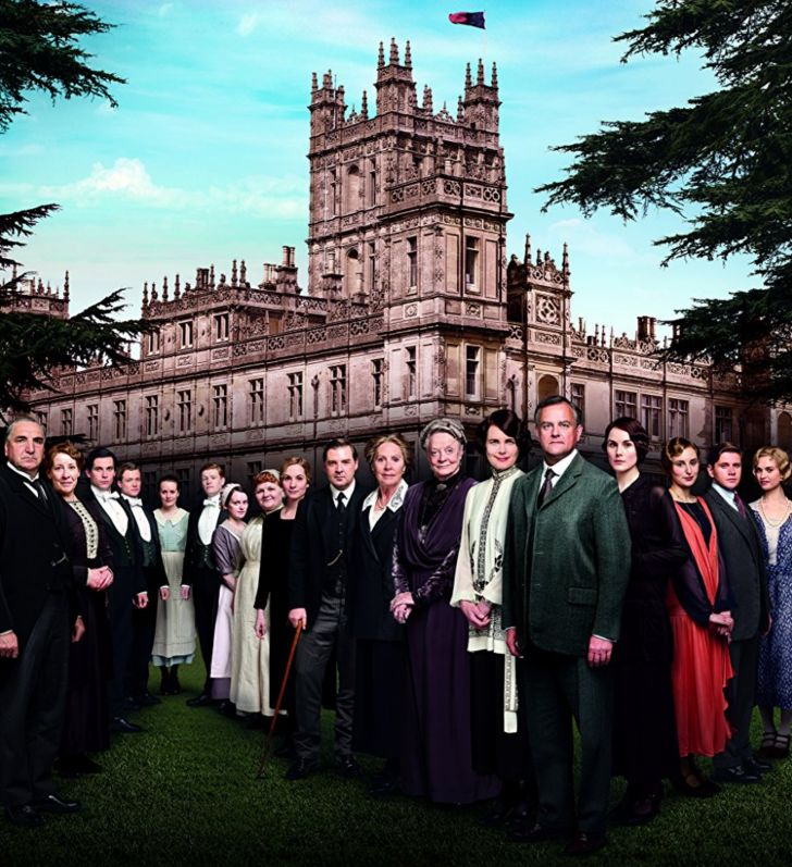 The cast of 'Downton Abbey'