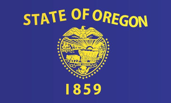 Oregon flag