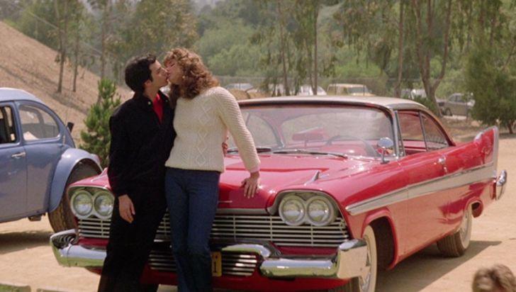 Alexandra Paul and Keith Gordon in 'Christine' (1983)