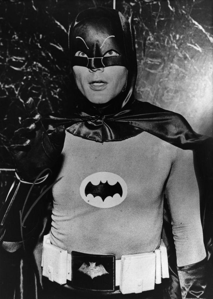 Adam West at 'Batman'