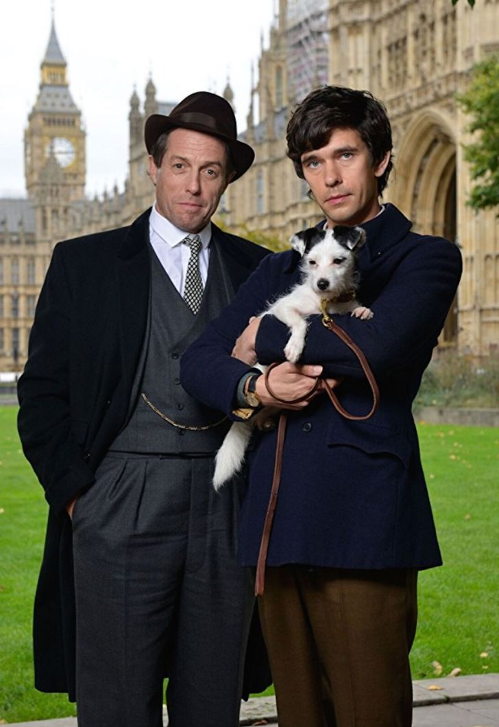 Hugh Grant and Ben Whishaw star in 'A Very English Scandal' (2018)